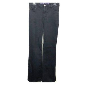 NYDJ Black with Rhinestone Accent Jeans